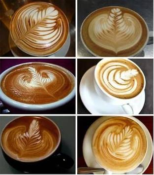Coffee art latte ideas screenshot 5