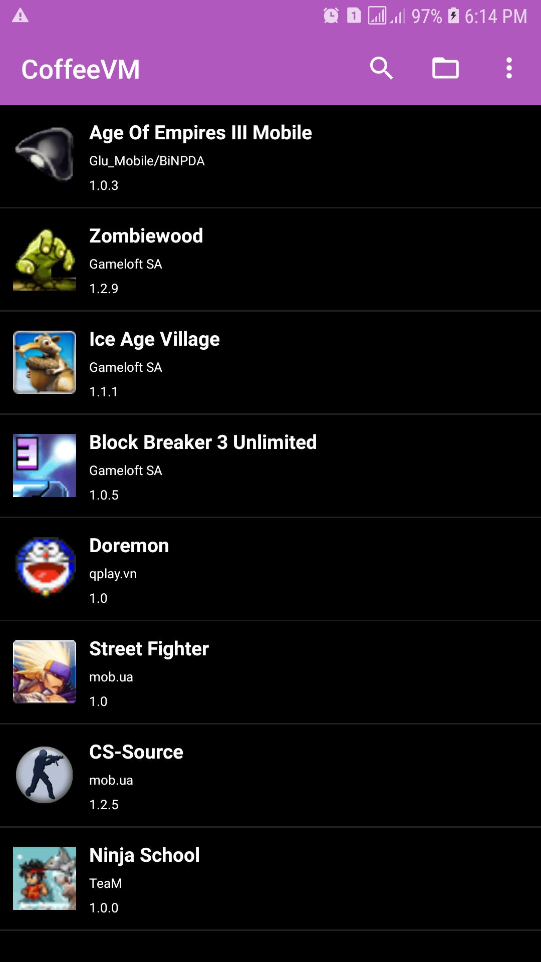 CoffeeVm - Simple J2ME Emulator for Android - APK Download