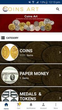 Coinsart screenshot 1