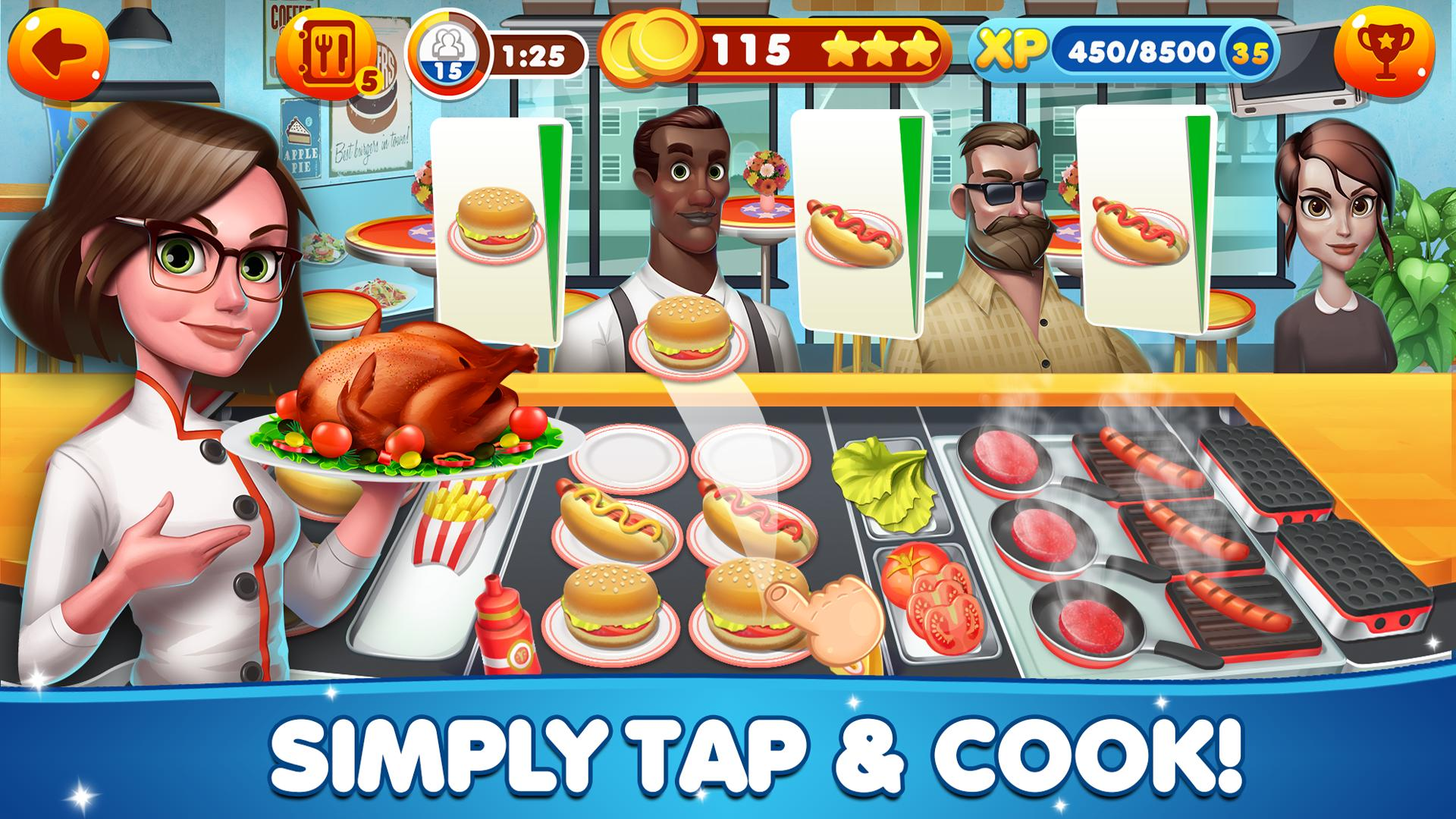 Cooking Academy 2: World Cuisine > iPad, iPhone, Android ... |Food Games