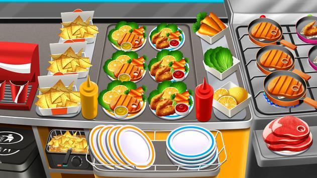 Kitchen Fever Food Restaurant & Cooking Games poster