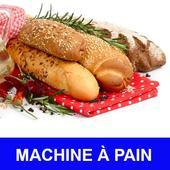 Machine à pain avec calories recettes en français. icon