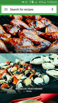 Poster ricette Barbecue