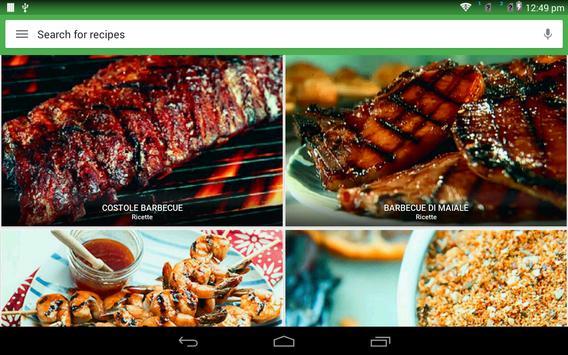 5 Schermata ricette Barbecue