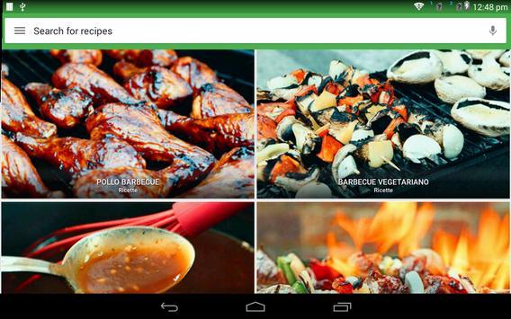 11 Schermata ricette Barbecue