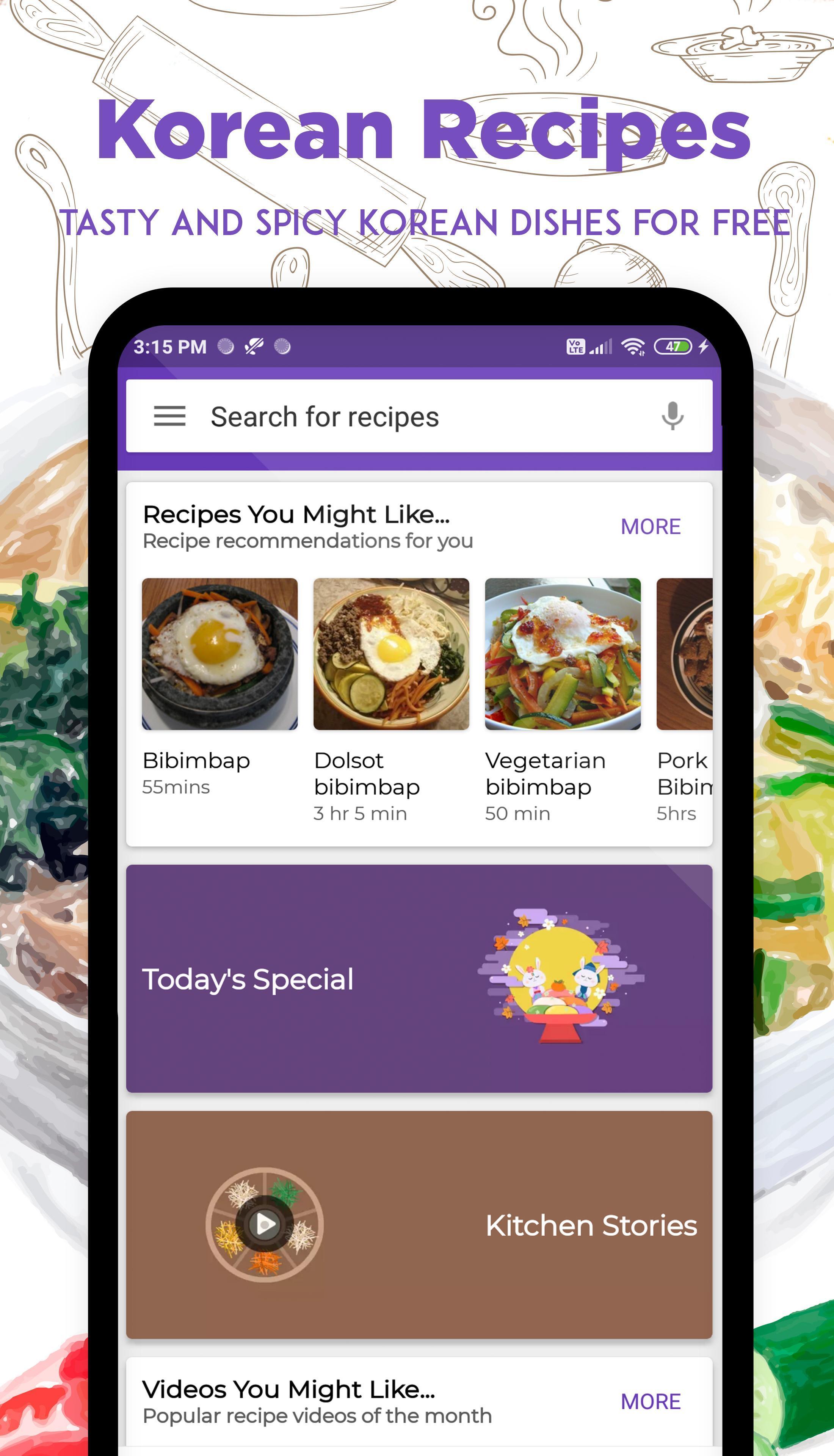 وصفات الكورية for Android - APK Download