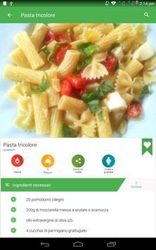 15 Schermata ricette di pasta gratis