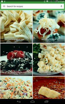 8 Schermata ricette di pasta gratis