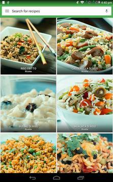 9 Schermata Ricette di riso