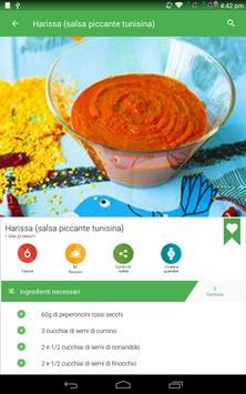 6 Schermata ricette salsa gratis