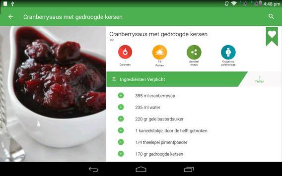 saus recepten gratis screenshot 12