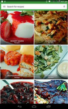 saus recepten gratis screenshot 14