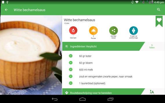 saus recepten gratis screenshot 6