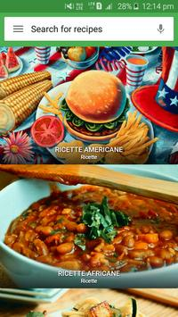 Poster Cucina del mondo