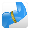 Body Measurement, Body Fat and Weight Loss Tracker أيقونة
