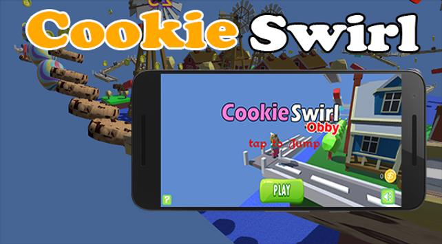 lol ad try my obby roblox Crazy Cookie Swirl Girl Robiox For Android Apk Download