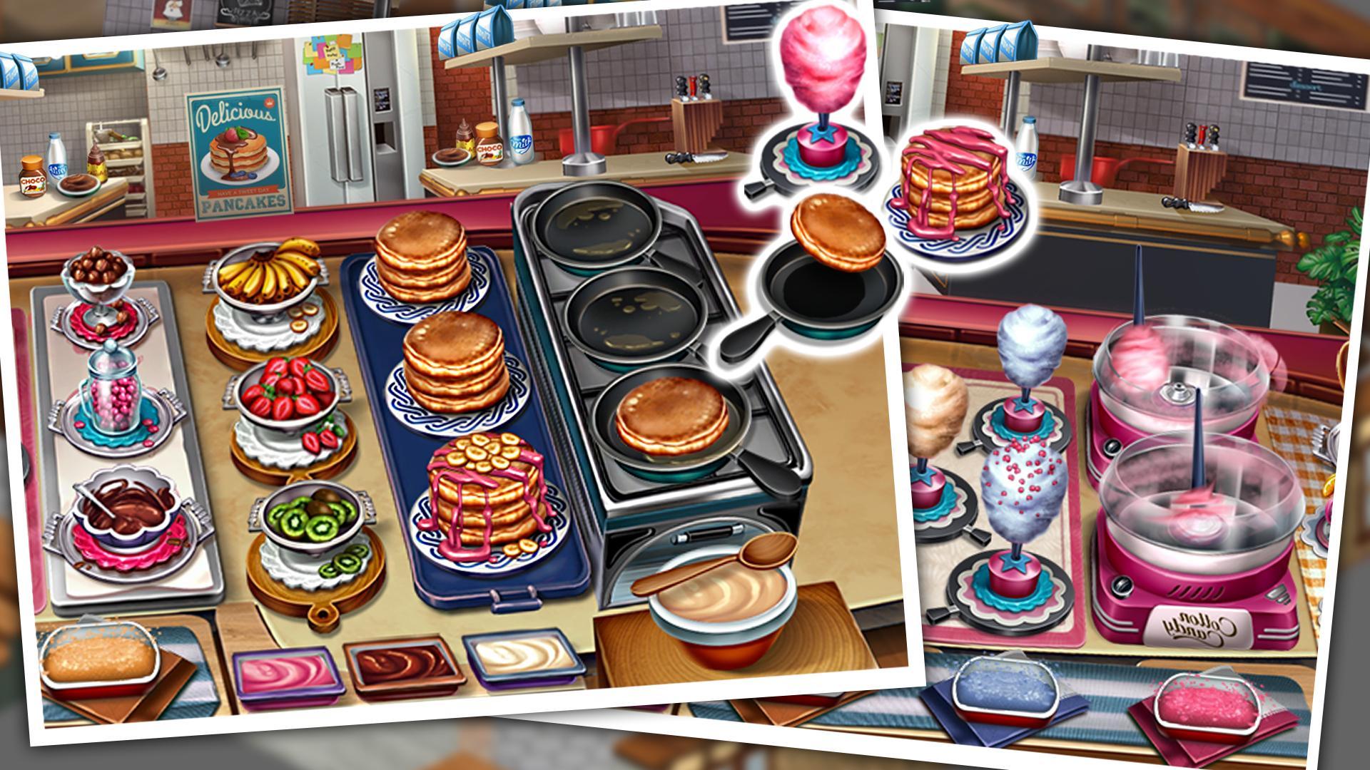 Viele Kochspiele