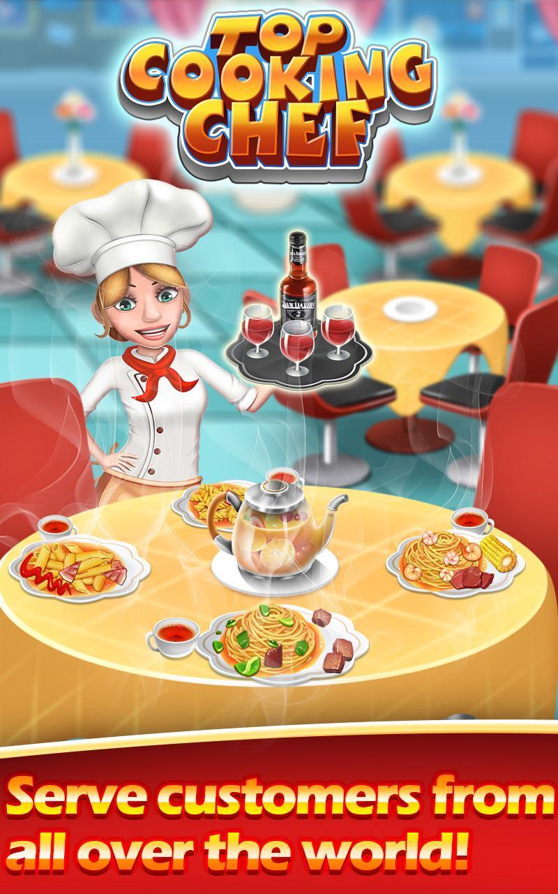 Mencari games gratis Top Cooking Chef