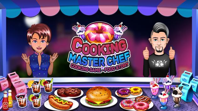 Game Memasak - Master Chef Kitchen Food Story poster