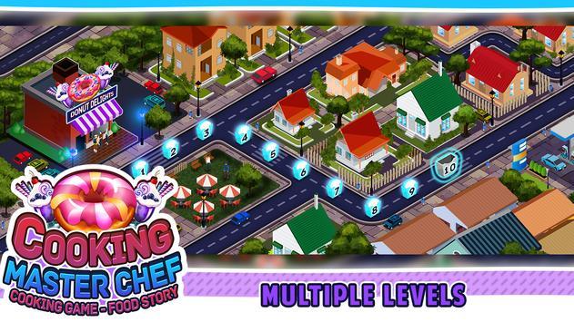 Game Memasak - Master Chef Kitchen Food Story screenshot 2