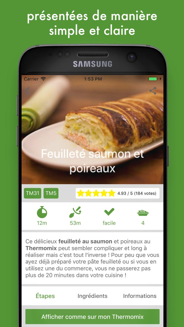 Thermomix Cuisiner Pour 6 Et Plus cookomix for android - apk download