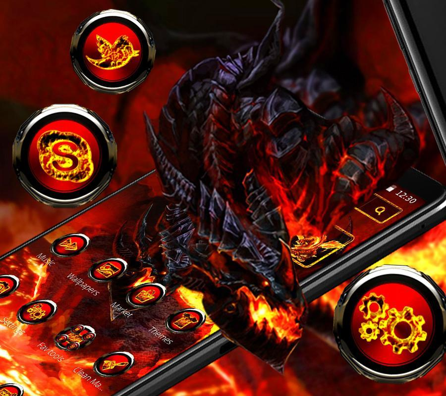 Cool fire dragon theme for Android - APK Download