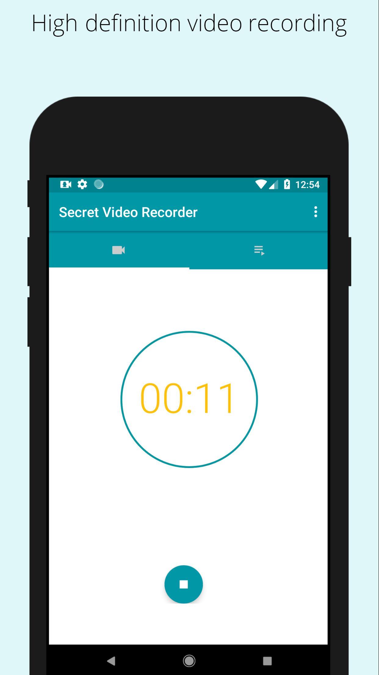 Secret video recorder (SVR) for Android - APK Download
