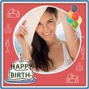 Photo on Birthday Greeting Cards + Birthday Wishes APK