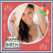 Photo on Birthday Greeting Cards + Birthday Wishes icon
