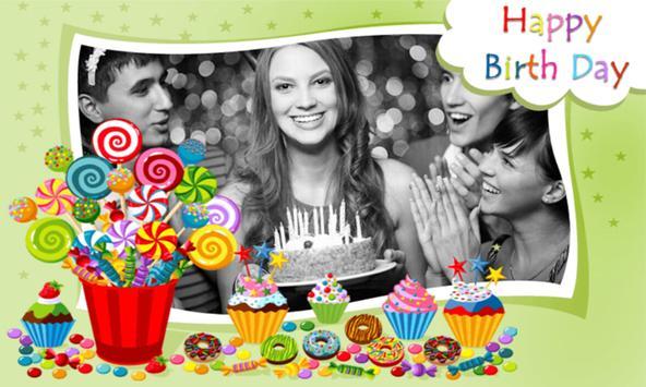 Photo on Birthday Greeting Cards + Birthday Wishes screenshot 3