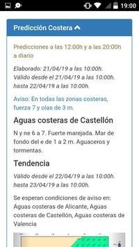 Meteorología Costera Española screenshot 2