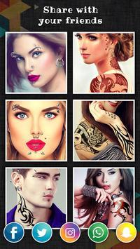 Mürekkepli: Fotoğrafımı Dövme Ekran Görüntüsü 9