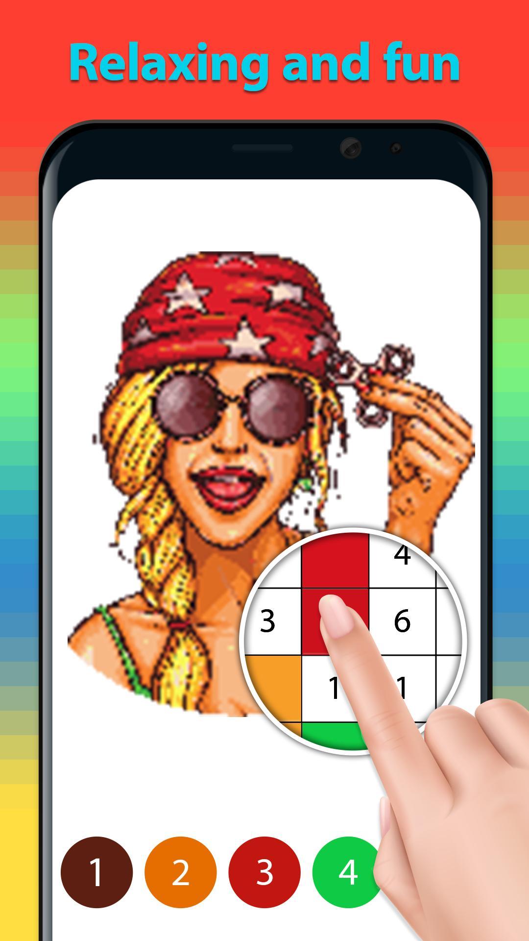Coole Ausmalbilder Malen Nach Zahlen Für Android Apk