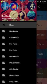 Cool Facts About Human Body poster