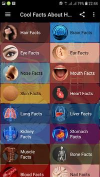 Cool Facts About Human Body screenshot 1