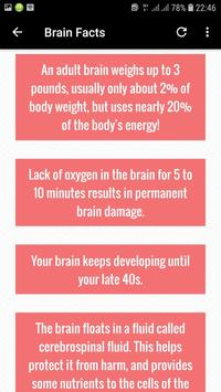Cool Facts About Human Body screenshot 21