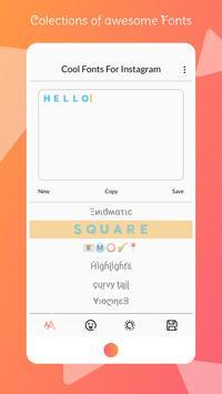 Font for Intagram - Beauty Font Style captura de pantalla 1