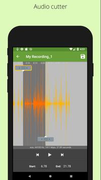Easy voice recorder - Background voice recorder screenshot 4
