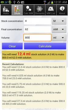 Solution Calculator Lite captura de pantalla 1