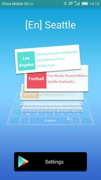 Seattle dictionary TouchPal poster