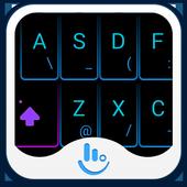 TouchPal Neon Light Theme icon