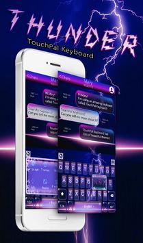 Night Thunder Keyboard Theme poster