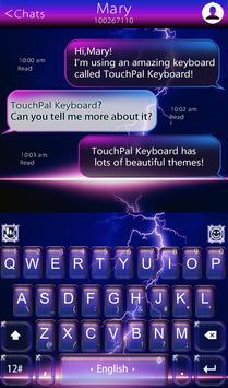 Night Thunder Keyboard Theme screenshot 1