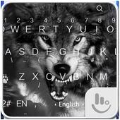 Wild Wolf Keyboard Theme icon