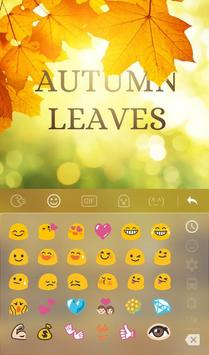 3D Animated Autumn Leaves Keyboard Theme screenshot 3