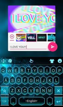 Blue Honeycomb 3D screenshot 4