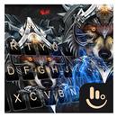 Cool Iron Wolf Keyboard Theme APK