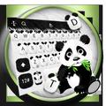 Cute Panda Baby Keyboard Theme