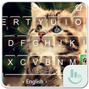 Cute Cat Emoji Keyboard Theme APK