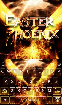 Easter Phoenix Keyboard Theme capture d'écran 1